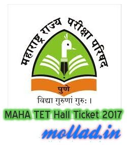 MAHA TET Hall Ticket