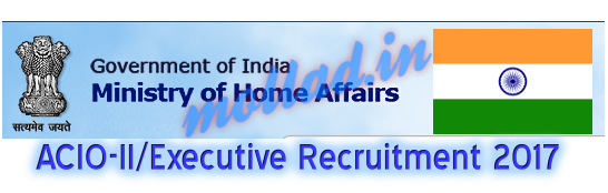 IB ACIO-II recruitment