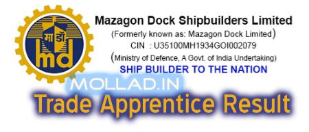 MDL Trade Apprentice Result